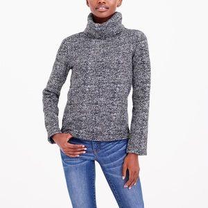 J. Crew Glen Plaid Turtleneck Pullover Sweatshirt